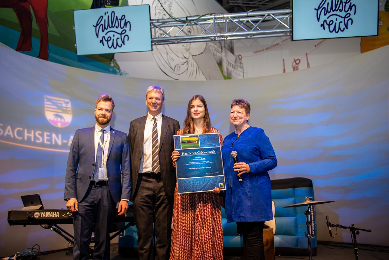 Hülsenreich gewinnt den Bio-Regionalpreis