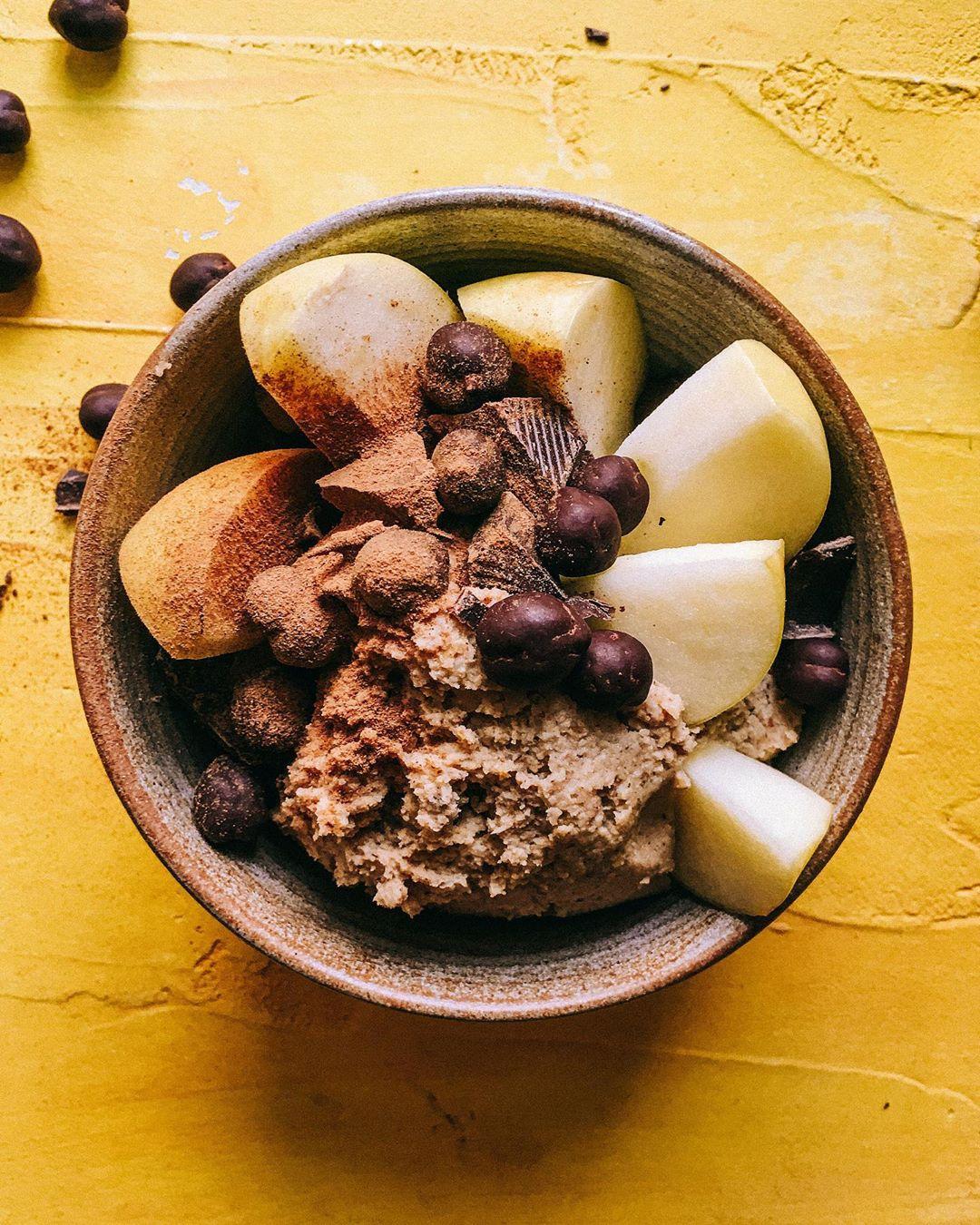 Süßer Hummus / Cookie Dough aus Kichererbsen