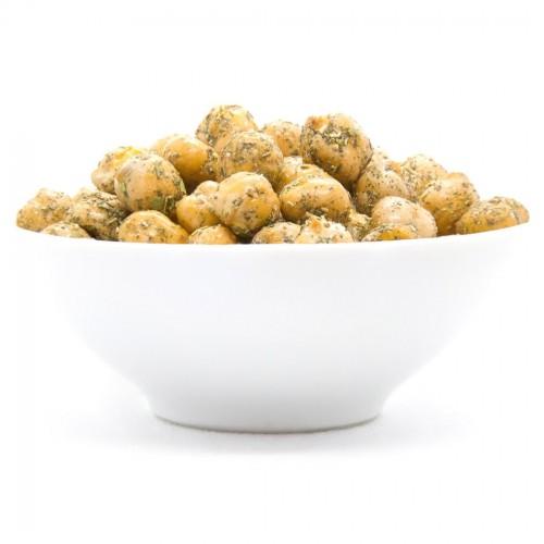 Geröstete Kichererbsen Snack
