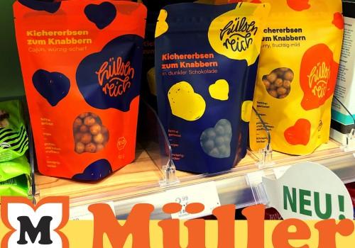 Geröstete Kichererbsen kaufen bei Müller