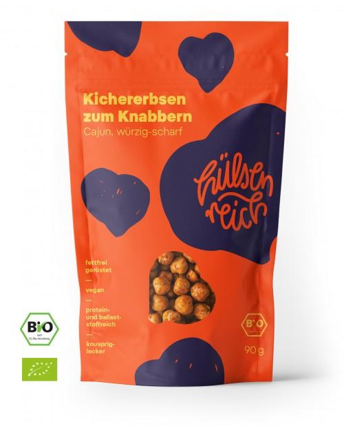Hülsenreich Kichererbsen Snack - Cajun