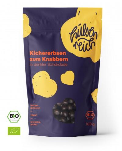 Hülsenreich Kichererbsen Snack - Schokolade